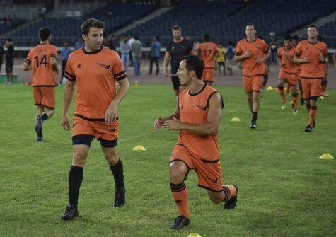 Del Piero con la sua nuova maglia (getty images)