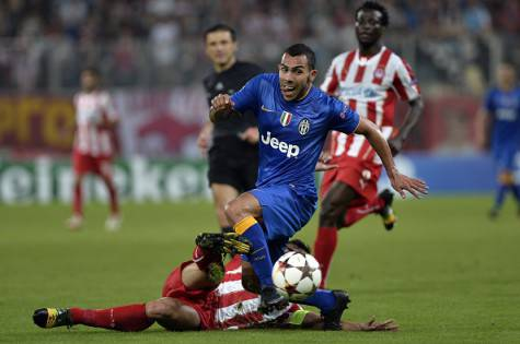 Olympiacos-Juventus (getty images)