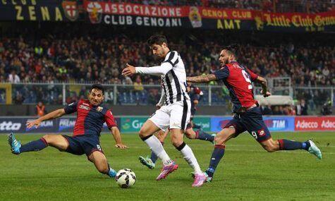 Morata in Genoa-Juventus (getty images)