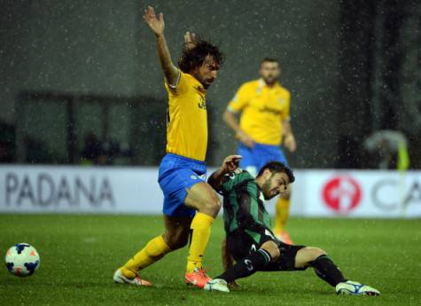 Magnanelli con Pirlo - Getty Images