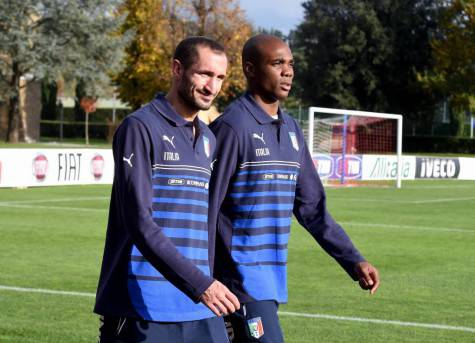 Ogbonna e Chiellini in Nazionale (getty images)