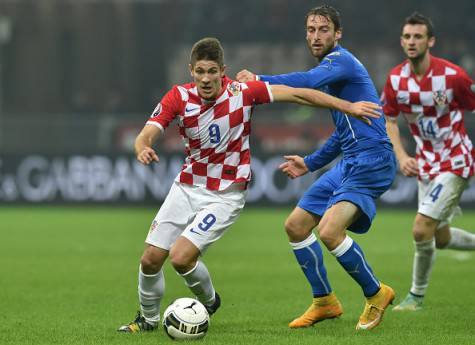 Kramaric contrastato da Marchisio - Getty Images