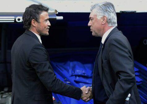 Luis Enrique-Ancelotti (getty images)
