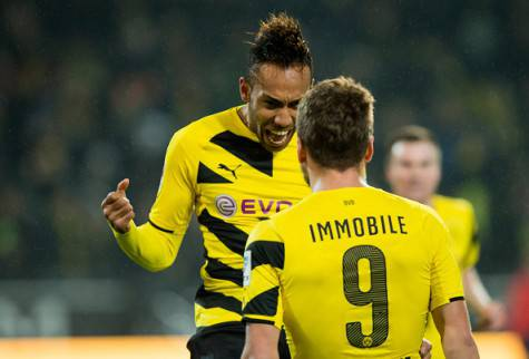 Immobile-Aubameyang (getty images)