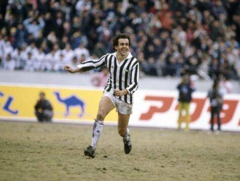 Michel Platini in Juventus-Argentinos Juniors (getty images)