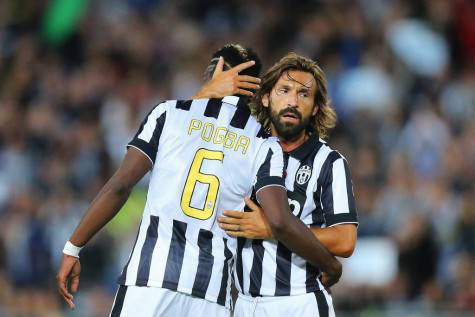 Paul Pogba e Andrea Pirlo - Getty Images