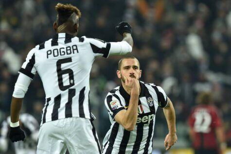 Leonardo Bonucci dopo il gol al Milan - Getty Images