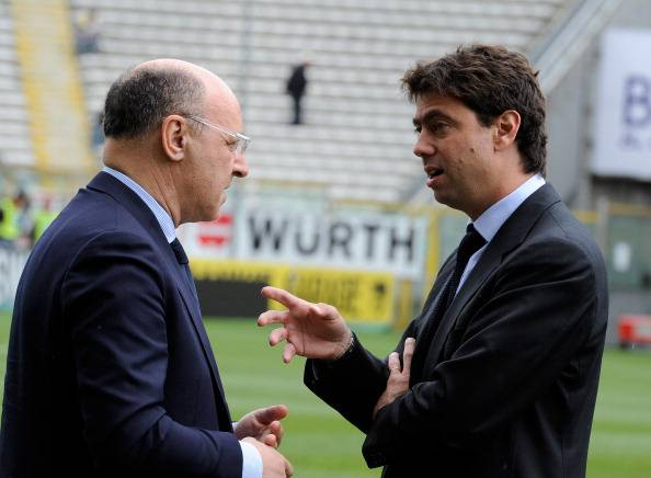 Agnelli Marotta Juventus © Getty