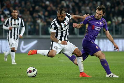 Badelj contro Vidal (getty images)