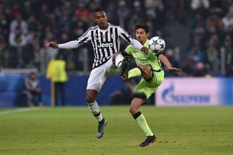 Calciomercato Juventus: Alex Sandro al Manchester City a gennaio?