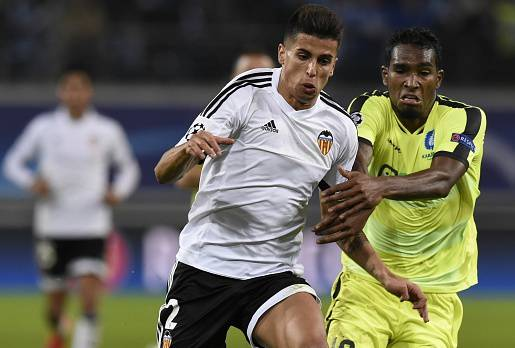 Joao Cancelo col Valencia ©Getty Images