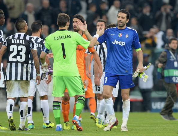 Buffon e Casillas