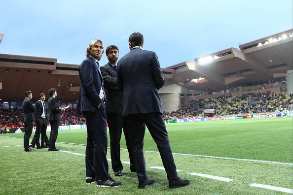 Pavel Nedved, Fabio Paratici e Andrea Agnelli