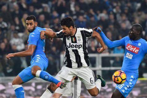 Coppa Italia, Juventus Stadium chiuso per i tifosi del Napoli