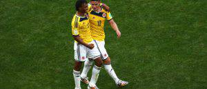 Juan Guillermo Cuadrado e James Rodriguez