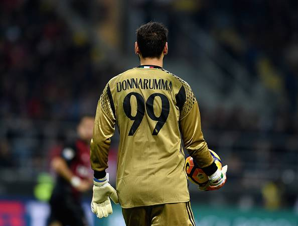 Incredibile Donnarumma: striscione e