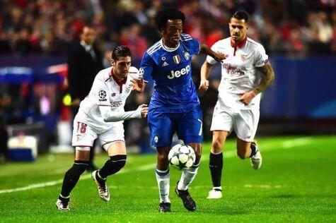 Juventus, Cuadrado corre a Sassuolo: