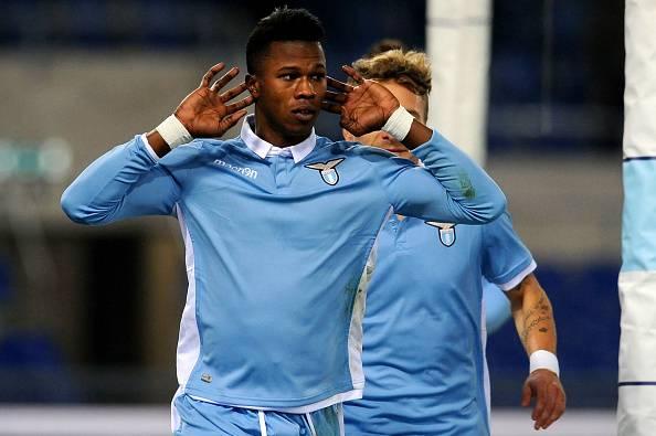 Balde Diao Keita esulta con la Lazio © Getty