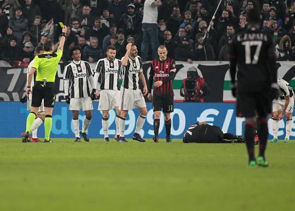 Juventus-Milan, tutti i retroscena dei fatti accaduti negli spogliatoi