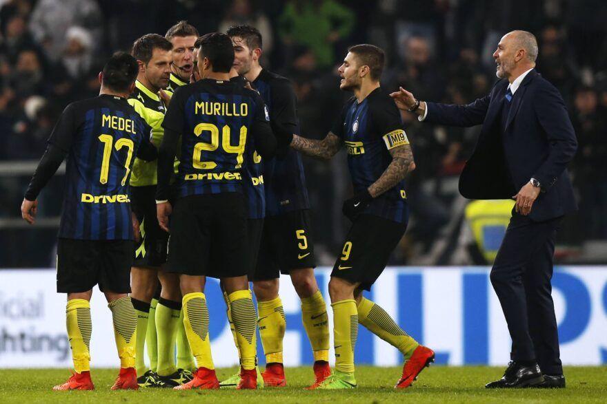 Juventus-Inter, pallonata verso Rizzoli? Icardi rischia grosso