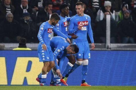 Roma-Napoli MOVIOLA LIVE: annullato gol a Perotti per fallo di mano