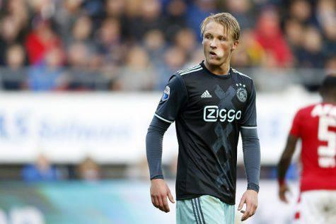 Calciomercato Juve de Ligt Tagliafico Dolberg Ajax
