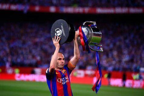 Braida blinda Iniesta: 'Niente Juve, resta al Barcellona'