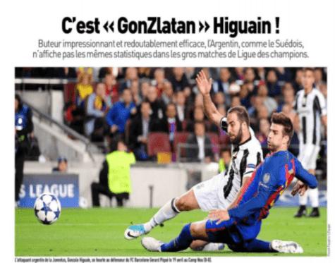 Una doppietta di Higuain ipoteca la finale Champions per la Juve