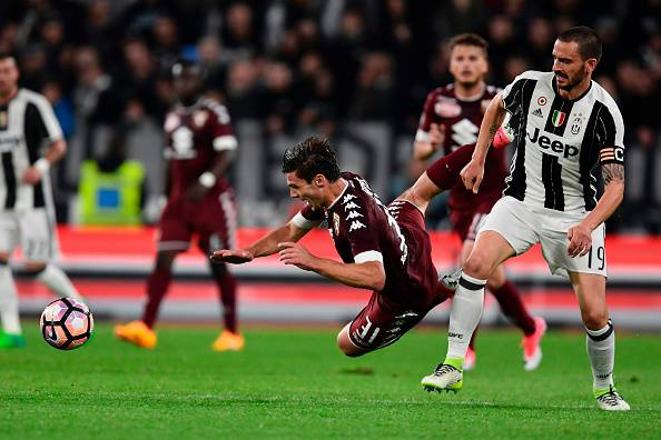Leonardo Bonucci in Juventus-Torino © Getty