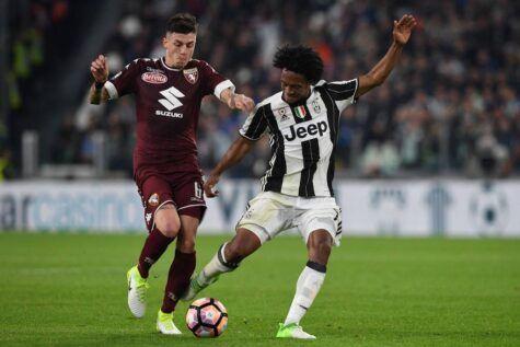 Juan Cuadrado in Juventus-Torino © Getty
