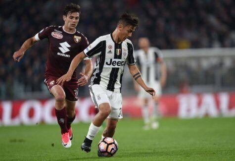 Paulo Dybala in Juventus-Torino © Getty