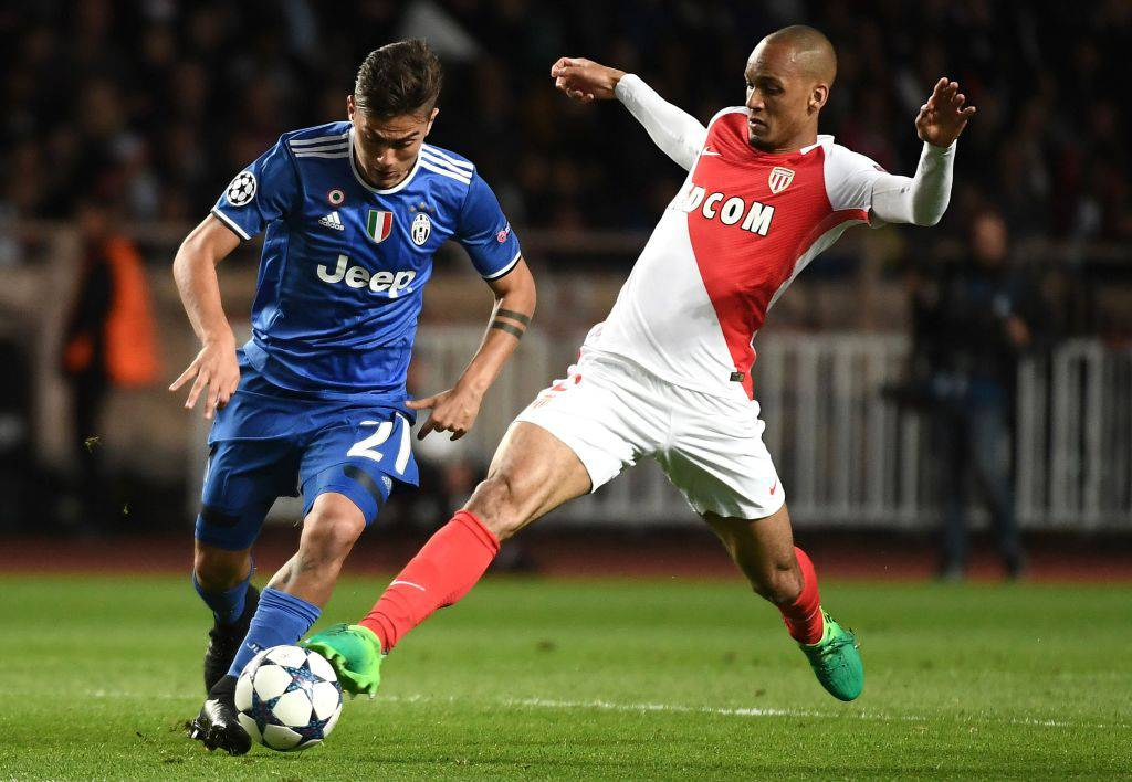 Fabinho in Monaco-Juventus ©Getty