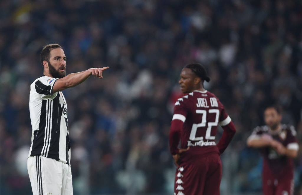 Gonzalo Higuain in Juventus-Torino © Getty Images