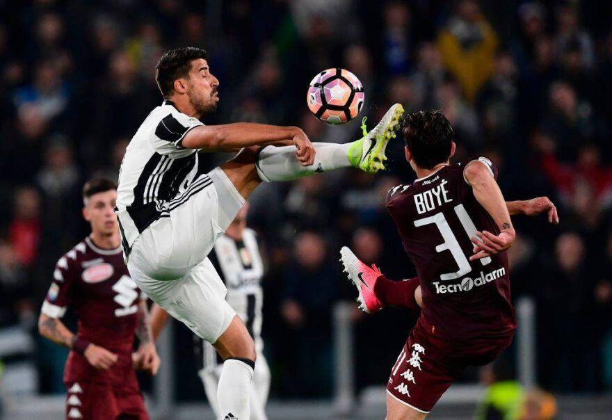 Sami Khedira in Juventus Torino