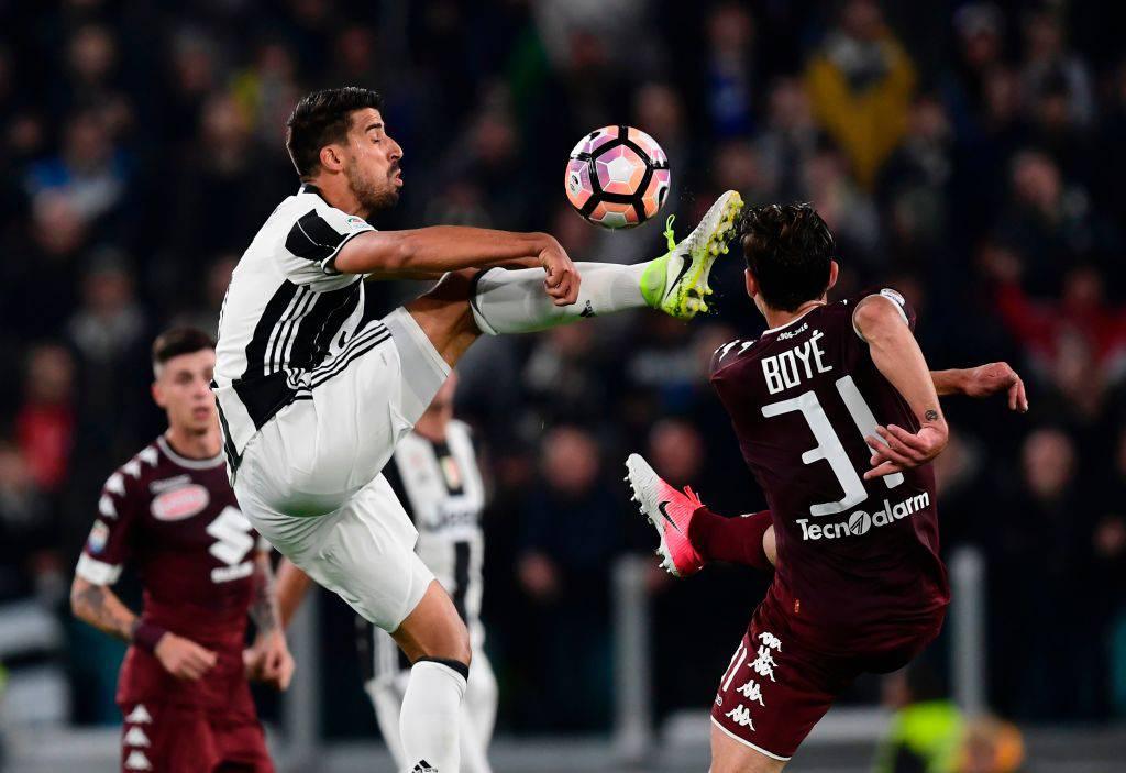Sami Khedira in Juventus-Torino © Getty