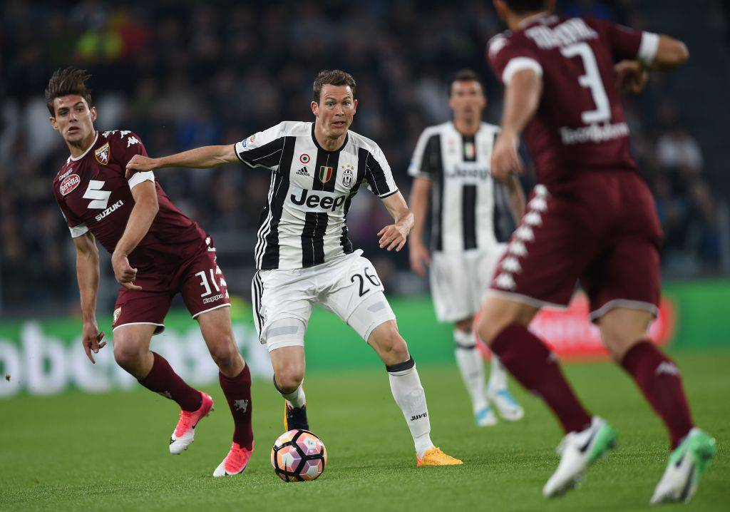 Stephan Lichtsteiner in Juventus-Torino © Getty