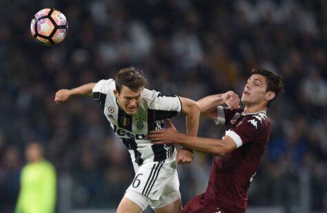 Stephan Lichtsteiner in Juventus-Torino © Getty