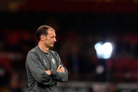 Massimiliano Allegri in allenamento ©Getty Images
