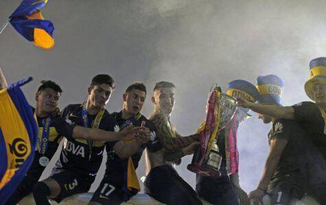 Il Boca Juniors festeggia © Getty