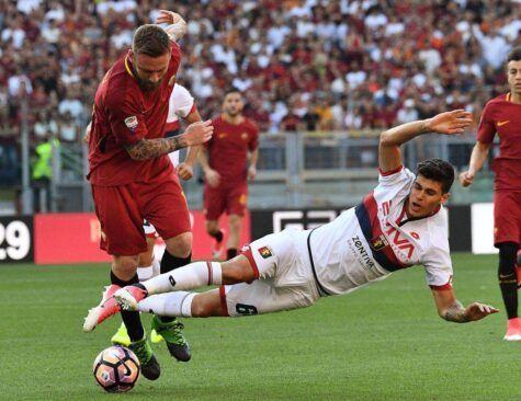 Pietro Pellegri in azione col Genoa ©Getty