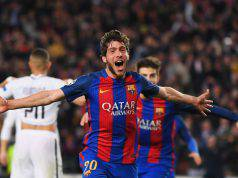 Sergi Roberto centrocampista ©Getty Images