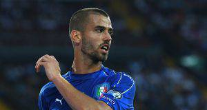 Leonardo Spinazzola con l'Under 21 ©Getty Images
