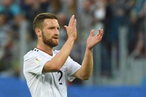 Shkodran Mustafi con la Germania ©Getty