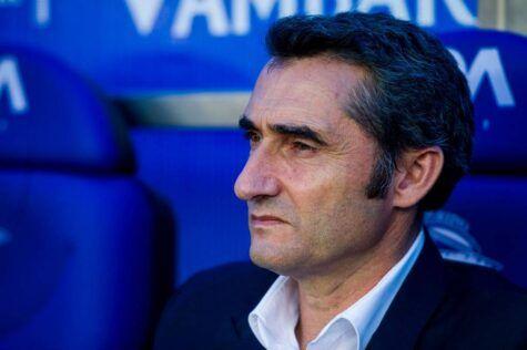 Ernesto Valverde allenatore Barcellona