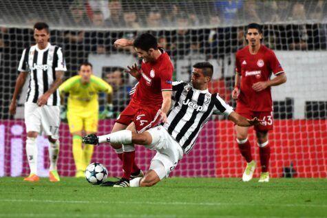 Juventus, altra tegola per Allegri: si ferma Pjanic in allenamento