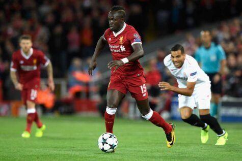 Mané attaccante Liverpool ©Getty