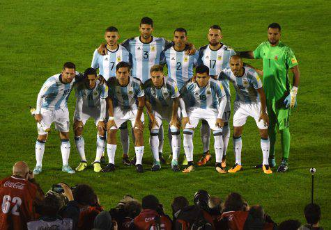 Dybala e Messi con l'Argentina