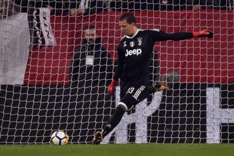Juventus, Szczesny: dal 'pazzo' desiderio Champions all'Inter