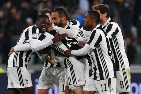 Infortuni Juventus: dubbi Mandžukić e Lichtsteiner, Höwedes nel 2018