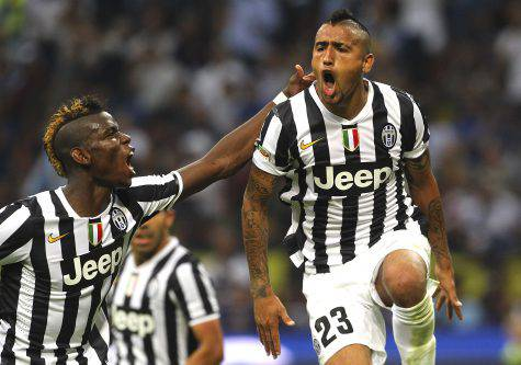 Pogba Vidal Juve @ Getty Images